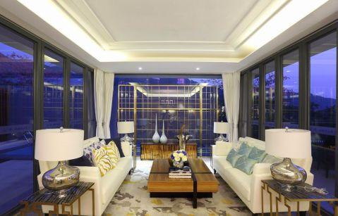2018现代简约100平米图片 2018现代简约三居室装修设计图片