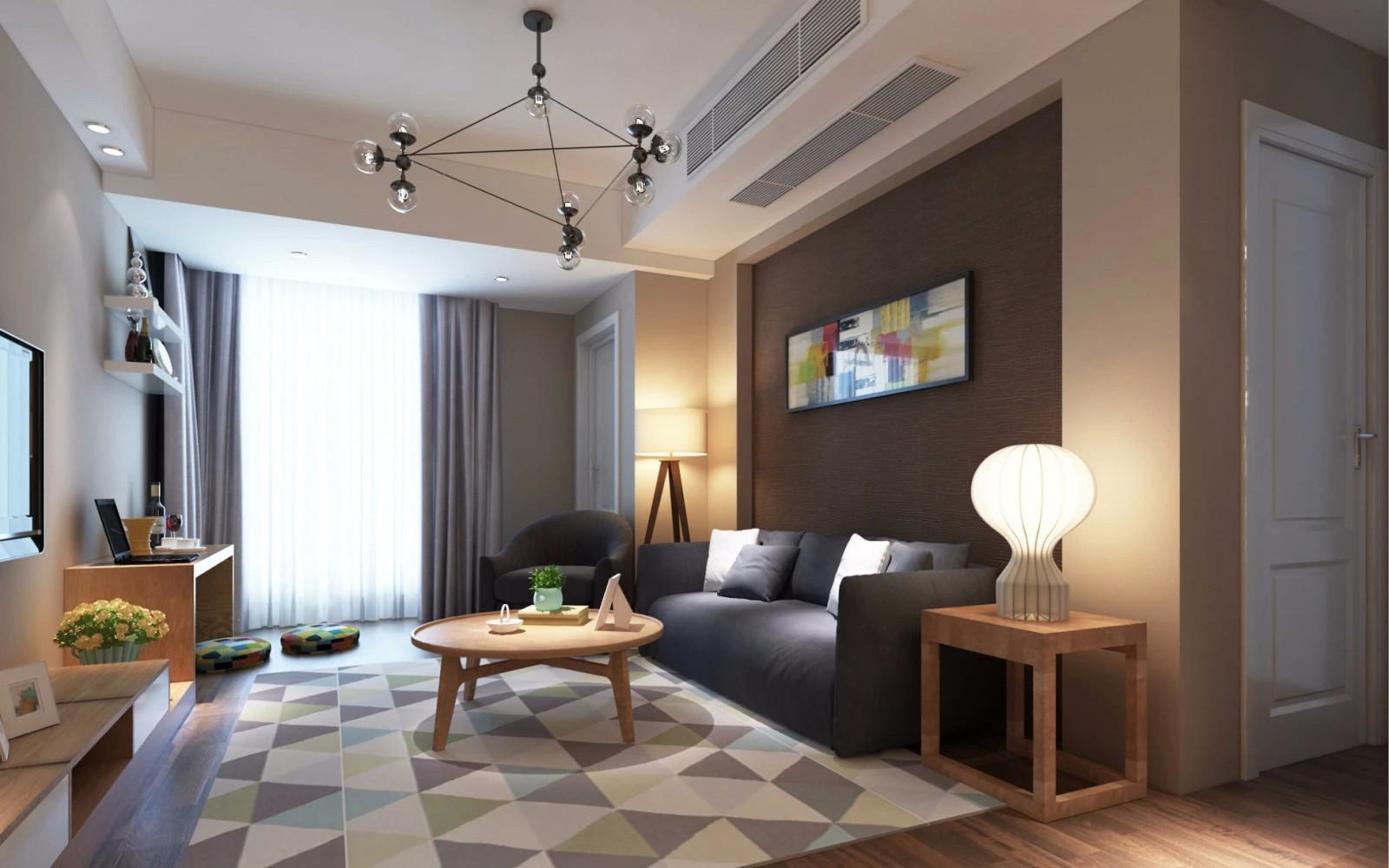 3室2衛2廳120平米現代風格