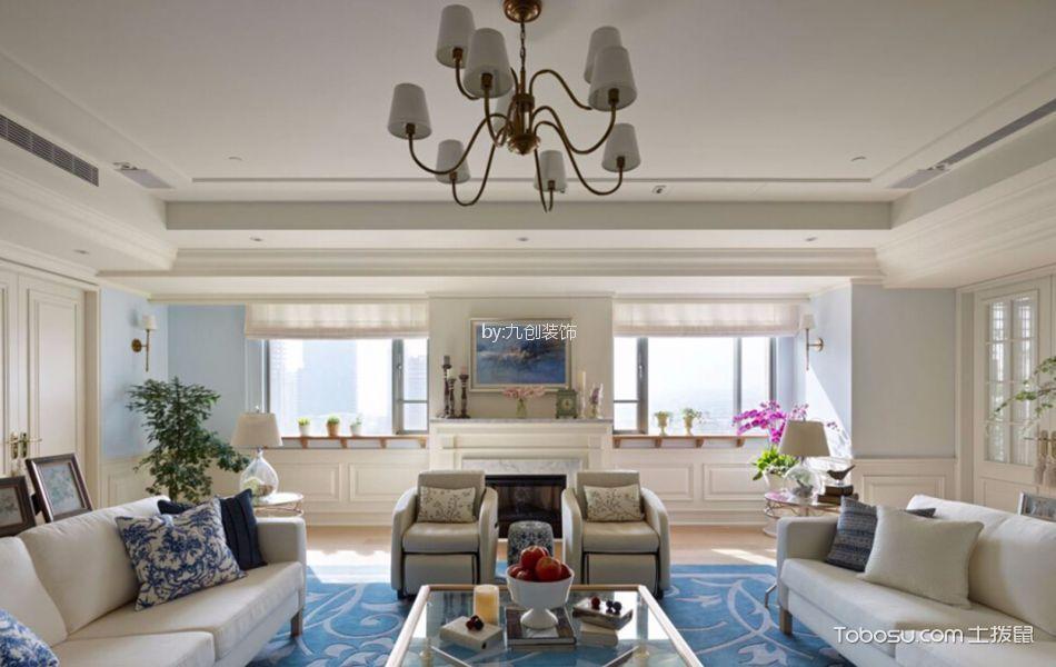 瀚唐109平米现代简约风格三居室装修效果图