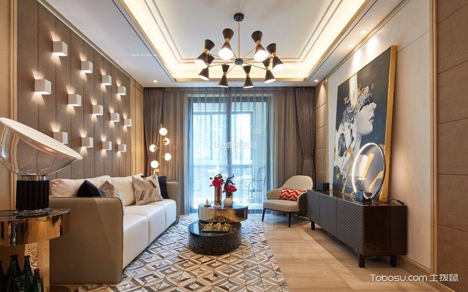 金域缇香288平米现代简约风格三居室装修效果图