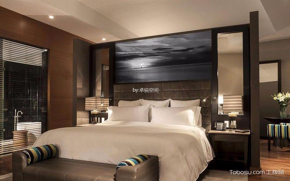 丽都壹号简约风格168平二居室装修效果图