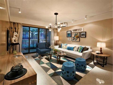 贵安新天地贵尊苑103三室两厅简欧装修效果图