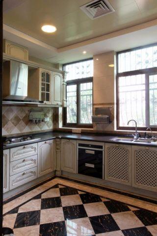 厨房橱柜新古典风格效果图