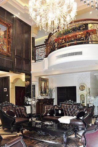客厅吊顶新古典风格装潢效果图