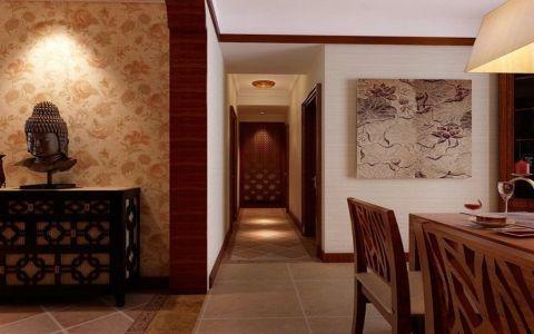 玄关走廊东南亚风格装修设计图片