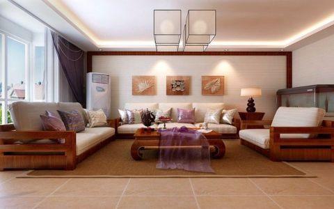 客厅沙发东南亚风格装修效果图