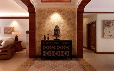 玄关细节东南亚风格装饰效果图