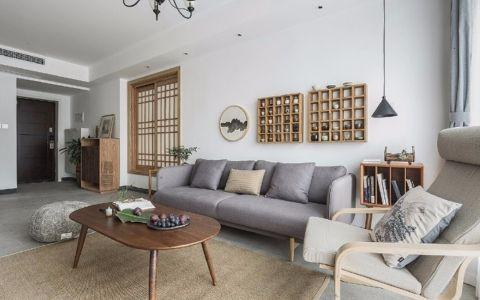棕榈泉国际公寓78平米公寓简约风格装修效果图