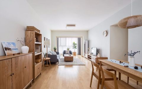 丽都壹号148平米日式风格三居室装修效果图