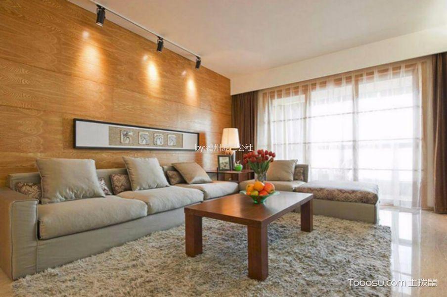 大儒世家朗园三室两厅110平现代简约风格装修案例