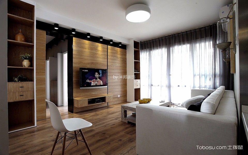 星河国际136平北欧风格三居室装修效果图