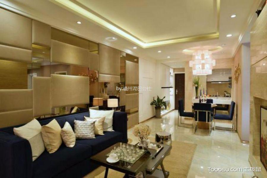 五凤山名居三室两厅112平现代简约风格装修效果图