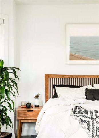 纯净卧室内墙装潢图