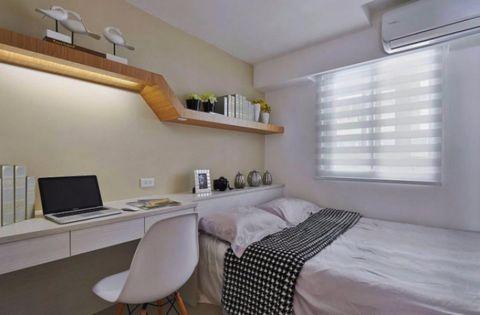 浪漫卧室内墙装潢实景图片