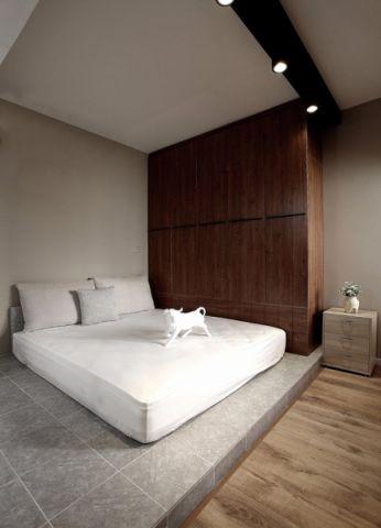 卧室床北欧风格装修效果图