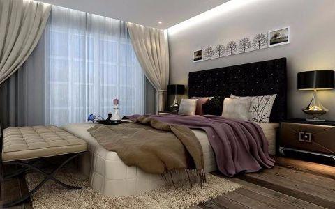 休闲白色卧室内墙图片