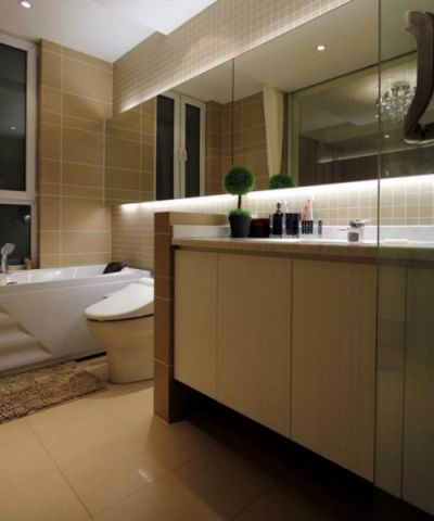 卫生间细节现代简约风格装修图片