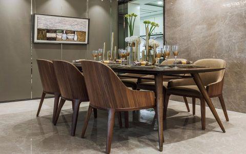 餐厅餐桌现代风格装饰设计图片