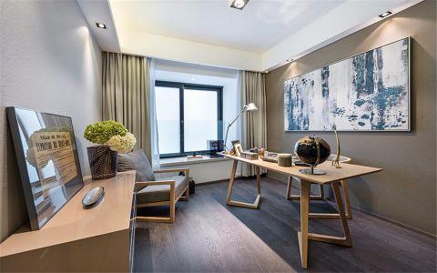 建宁新村现代风格56平方二居室装修效果图