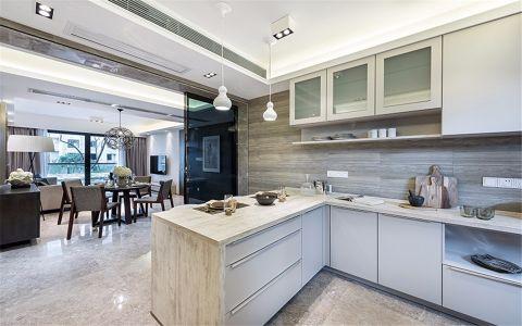 厨房地板砖现代风格装饰设计图片