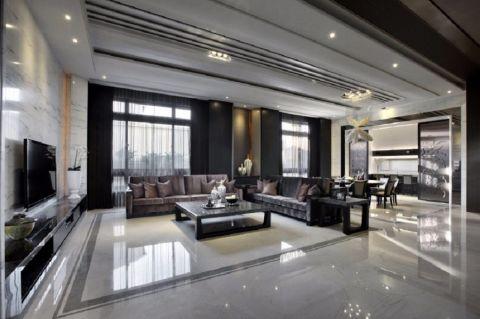 客厅细节新中式风格装修设计图片