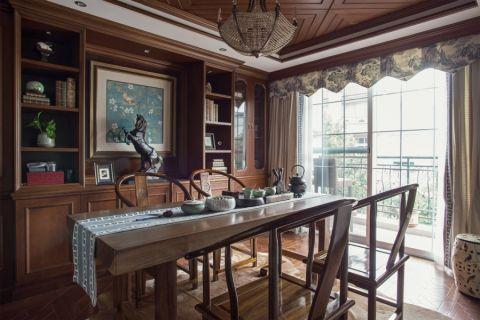 和泓江山国际103平美式风格4居室装修效果图