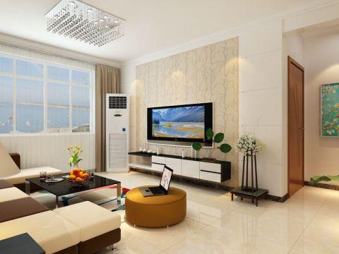 连城水岸132平三居室现代简约风格装修效果图