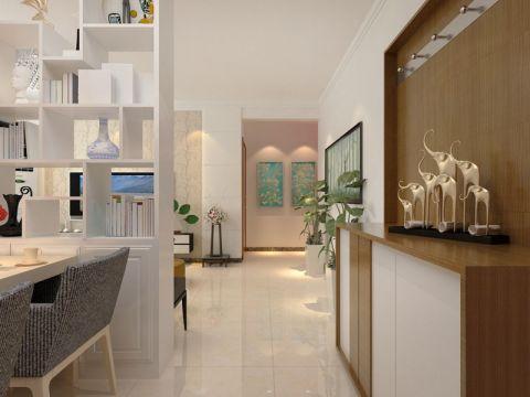 玄关门厅现代简约风格装饰设计图片