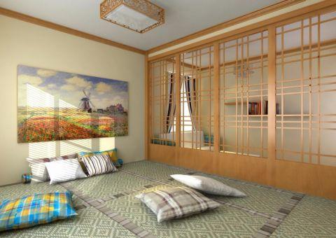 卧室榻榻米日式风格装修设计图片