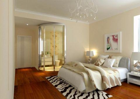卧室床日式风格装饰设计图片