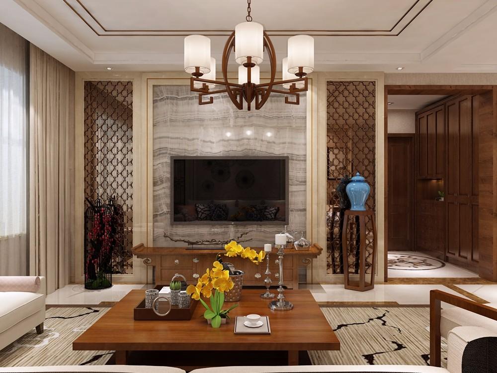 3室1卫2厅123平米简中风格