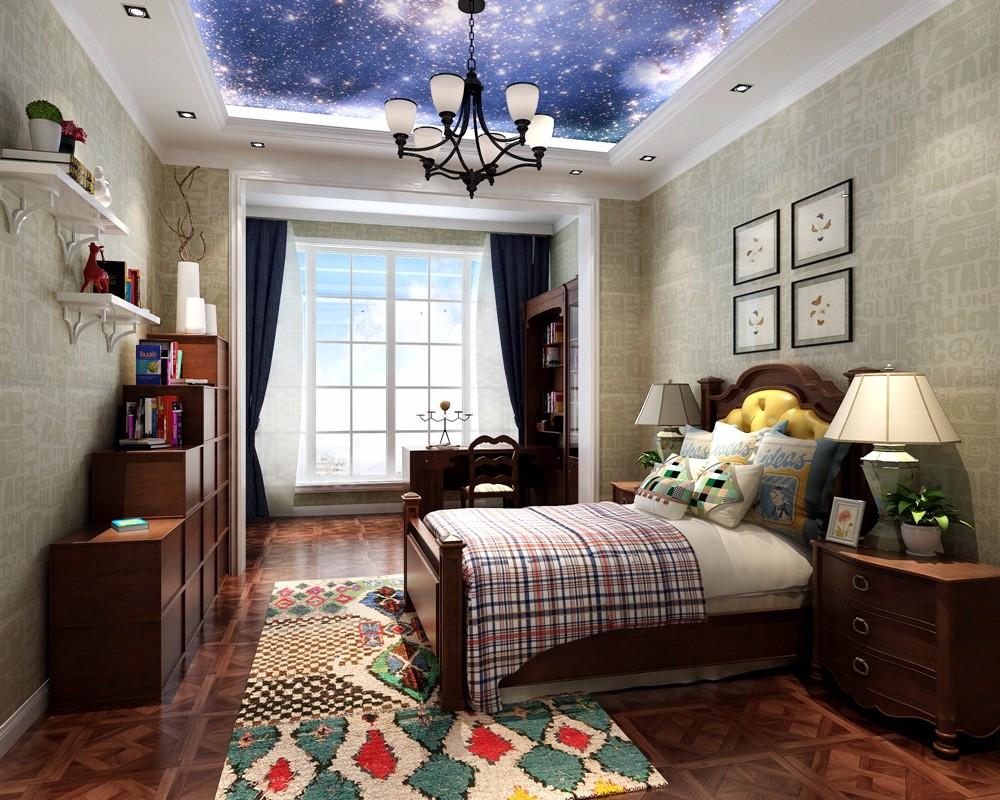 4室2卫2厅400平米混搭风格