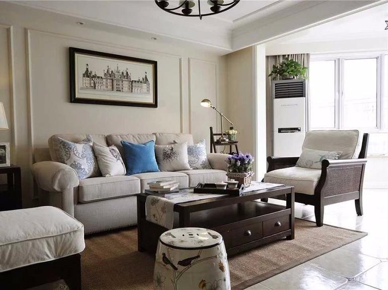 2室1卫2厅91平米美式风格