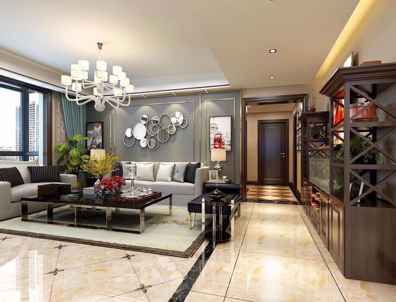 2室2卫1厅149平米现代简约风格
