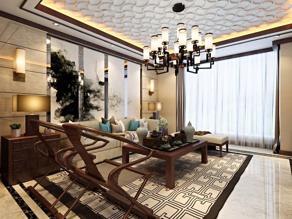 4室3卫2厅169平米新中式风格