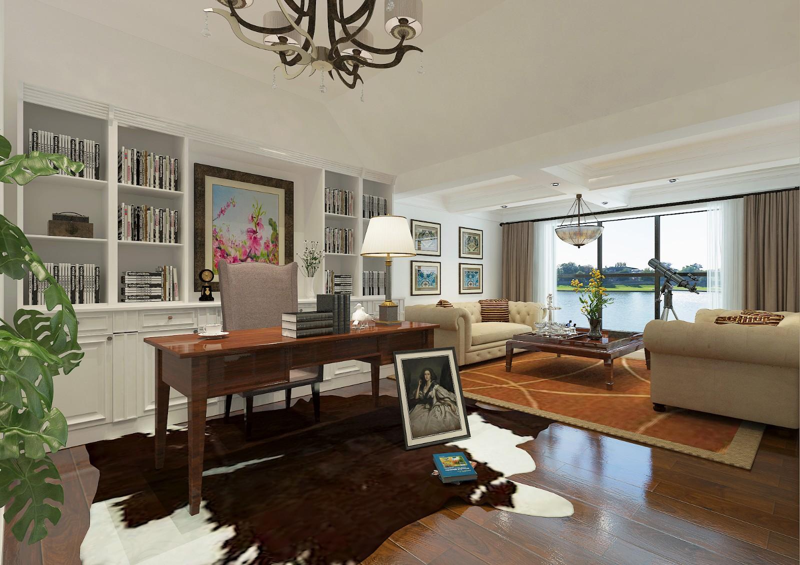 5室3卫3厅190平米美式风格