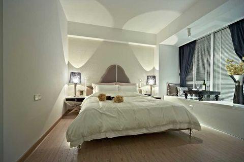美感白色卧室内墙效果图