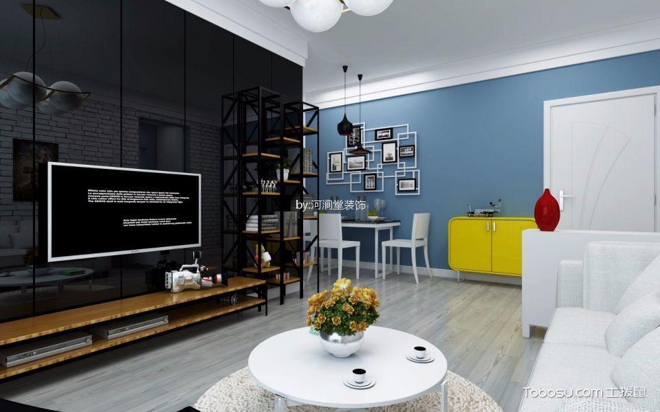 96平米滨江花园地中海风格两居室装修效果图