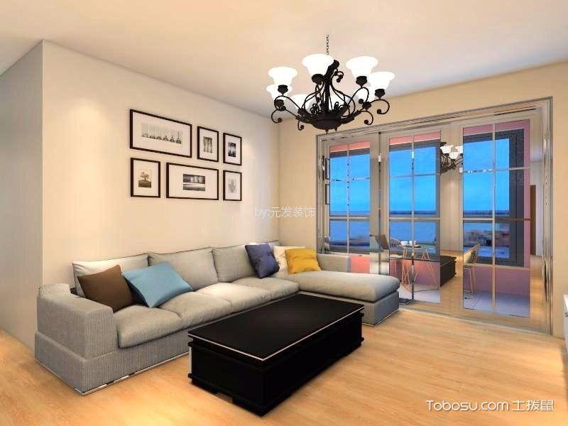 简约风格120平米四居室装修效果图