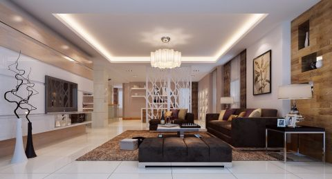 2021现代240平米装修图片 2021现代别墅装饰设计