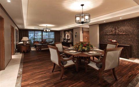 2018新古典120平米装修效果图片 2018新古典三居室装修设计图片