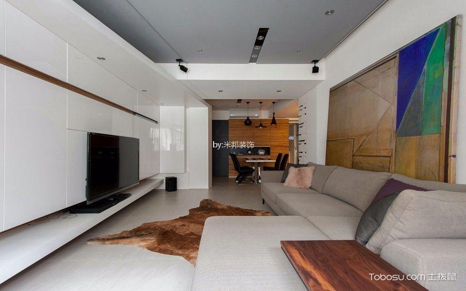 星河国际148平现代风格三居室装修效果图