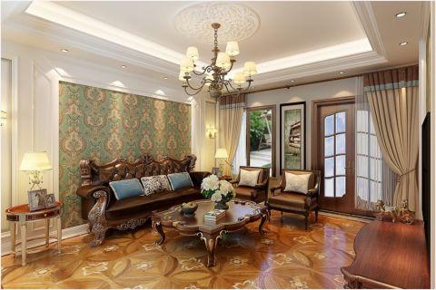 300平米魯能泰山7號獨棟別墅簡歐風格裝修效果圖