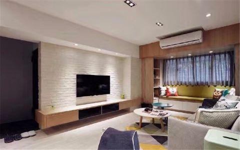 尚都49平北欧风格一居室装修效果图