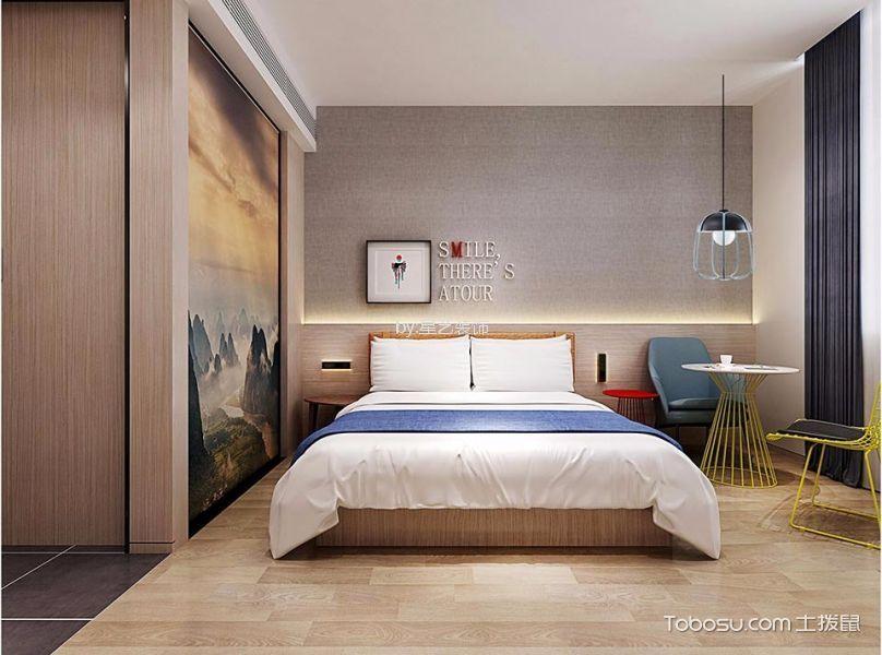 大床房装潢图