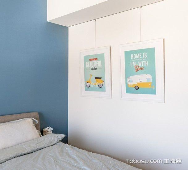 93平日式风格二居室装修效果图
