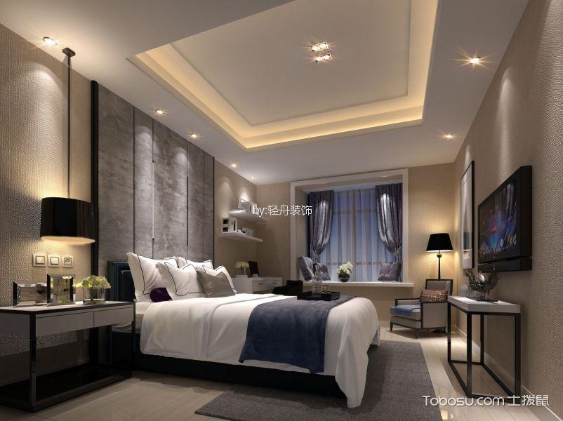翠叠园97平米现代简约风格二居室装修效果图