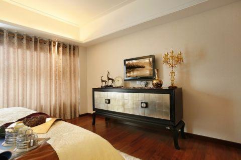 2021欧式卧室装修设计图片 2021欧式电视柜装修图片