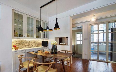 十二院城110平北欧风格简约二居室装修效果图