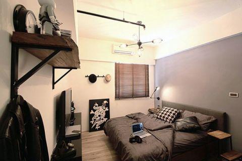 日式风格50平米loft装修效果图